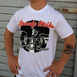 SPEEDY MIKE T-SHIRT - ROD RACE GIRL