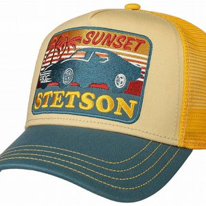 STETSON KEPS - TRUCKER CAP SUNSET
