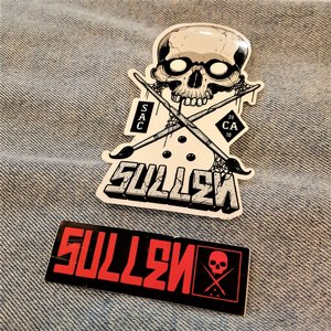 SULLEN STICKER - TEXT/DÖSKALLE