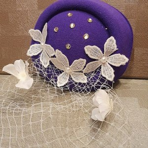 SWEET CO. 50S HATT - FLOR LILA