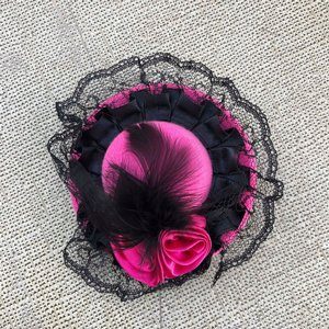 SWEET CO. BURLESQUE HATT - LITEN PINK