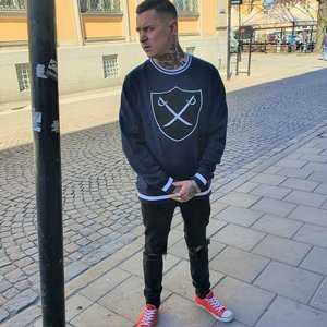 THE HUNDREDS CREWNECK - SHIELD BLÅ