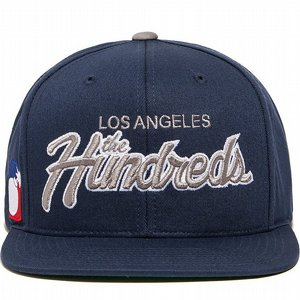 THE HUNDREDS SNAPBACK - TEAM TOW MARIN BLÅ