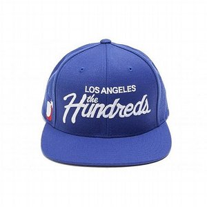 THE HUNDREDS SNAPBACK - FOREVER TEAM SNAPBACK BLÅ