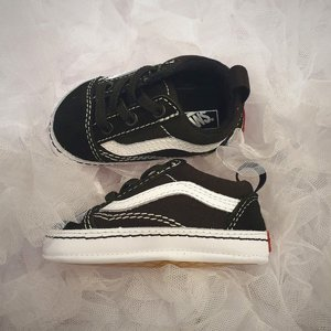 VANS BABY SKOR - OLD SKOOL BLACK/WHITE