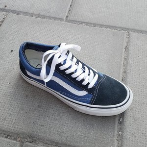 VANS SKOR - OLD SKOOL NAVY