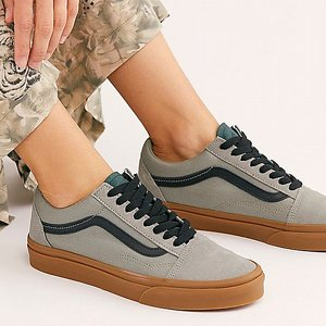VANS SKOR - OLD SKOOL SHADOW GREEN