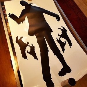 WALL STICKER - ZOMBIE 1