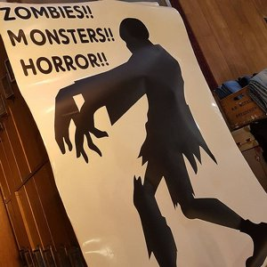 WALL STICKER - ZOMBIE 3